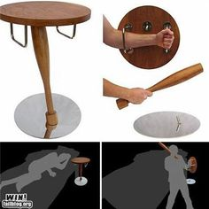 Zombie invasion defense furniture - awesomesauce  #zombie #furniture