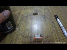 Aquí trobem un experiment casolà fàcil de realitzar a casa, on ens mostra la primera lleI de Newton. Javier Jiménez Rodríguez