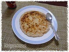 Adelgaza Con Susi: Torta de avena (210kcal)