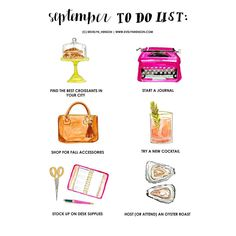 """on the blog >> the #brightlydecoratedlife september to do list!!"""