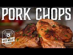 How to Cook Pork Chops on the Stove - Pork Chop Basics - EASY Skillet Pork Chops Recipe! - YouTube Pork Chops Cast Iron, Skillet Pork Chops, Oven Burgers, Wagyu Beef, How To Cook Pork, Chops Recipe, Grilled Pork, Meat Lovers, Pork Chop Recipes