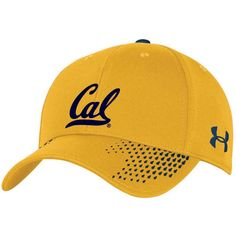 e64fc30e956 Cal Bears Under Armour Team Logo Sideline Renegade Accent Adjustable Hat -  Gold