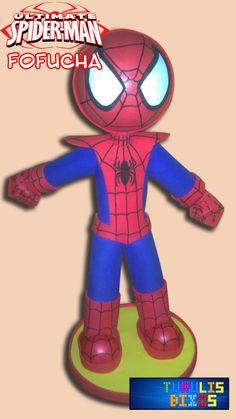 Fofucha de el hombre araña (Spiderman)  https://www.facebook.com/pages/Turulis-Bixos/289435081142494
