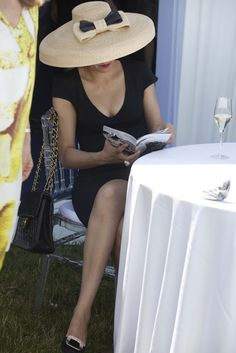 At the Prix de Diane in Chantilly, France. [Photo by Franck Mura]
