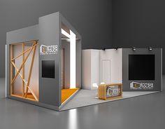 Exhibition Design on Behance Design Room, Design Studio, Stage Design, Ppt Design, Food Design, Exhibition Stall Design, Showroom Design, Exhibition Stands, Restaurant Design