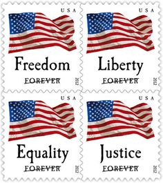 5f555410a942 Postal Service continues its tradition of honoring the Stars and Stripes  with the issuance of Four Flags. This quartet of stamps . U.S. Postal  Service