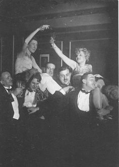 Sasha Stone, Sylvester in Berlin,  1928