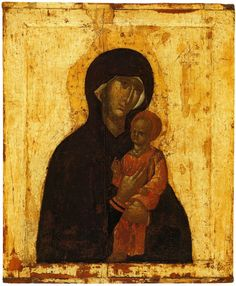 """The iconographic type of the """"Pimenovskaya"""" icon of the Mother of God is Odigitria. For the first time, the icon was mentioned in the . Religious Images, Religious Icons, Black Jesus, Byzantine Icons, Orthodox Icons, Christian Art, Artist Art, Art Images, Christianity"""