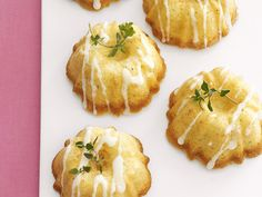 Eating Healthy: Mini Olive Oil Cakes with Lemon Glaze Recipe