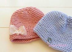 #24 Strickanleitung ❀ Baby Mütze Beanie ❀ Grobstrick DIY - Strickanleitungen bei Makerist