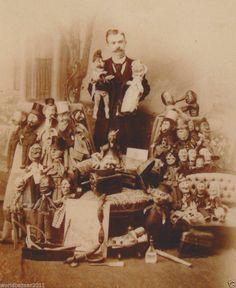 VICTORIAN CURIOSITY PUNCH AND JUDY MAN CIRCUS SIDESHOW FREAK SHOW FREAKSHOW
