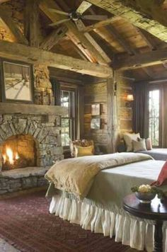 Warm & Cozy- I seriously want this in our next house. Yep.