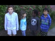 """Kids from around the world, in many languages share the message: """"We are all connected!"""" Video about being a global citizen and making the world a better place."""