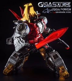 GigaPower - Gigasaurs - HQ02 - Grassor - Metallic Version