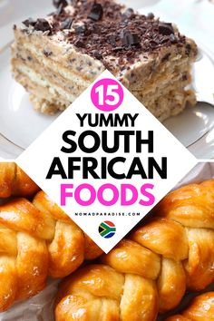 South African Food - 15 Best Traditional Dishes to Try on Your Next Trip to South Africa! South African Desserts, South African Dishes, South African Recipes, Braai Recipes, Cooking Recipes, Oven Recipes, Best Dishes, Food Dishes, South African Braai