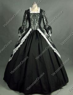 Victorian-Gothic-Ball-Gown-Period-Dress-Reenactment-Theatre-Costume-Punk-164-S