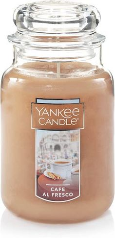 Make your home smell like a coffee shop. This large 22 ounce candle from Yankee Candle promises hours of cinnamon, coffee and caramel scents delivered from their iconic jar. The scent is also available in smaller tumblers and tea lights too so you can light these candles all over your home in various forms.