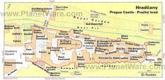 prague castle map - Google Search