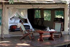 Reminds me of Botlierskop, S. Africa...  Chiawa Camp - Lower Zambezi, Zambia