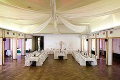 der geschmückte Saal im Hoffmannhaus zu Wolfsburg