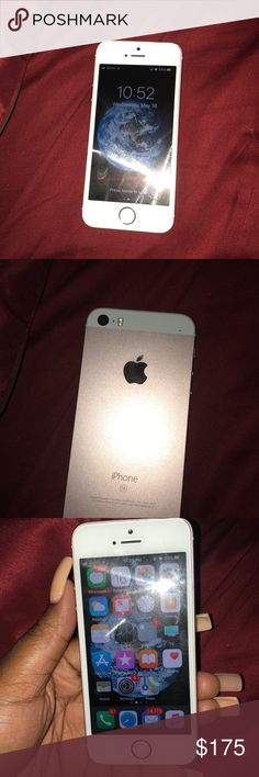 IPhone 5SE Rose Gold Sprint 32GB There Is Nothing Wrong With The Phone Only Reason Im Selling It Because I Got 8 Today
