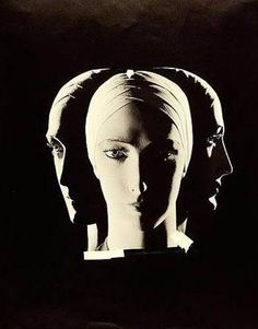 © Wynn Richards Mannequin Head in Three Views (Elizabeth Arden Ad) 1925 Vintage Mannequin, Mannequin Heads, Research Images, Black And White Pictures, Top Photo, White Photography, Fashion Photography, Erotic, Sculptures