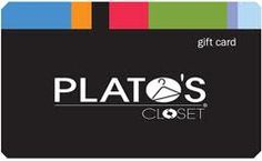 plato's closet gift card--I would like some more clothes but I want to keep it frugal.