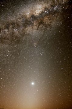 Venus, Zodiacal Light, and the Galactic Center