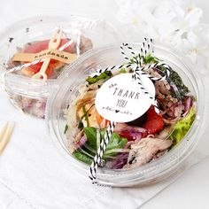 10 x Lunch Box / Clear Food Box / Small Or Medium Box / Disposable box / Party Tray / Lunch Box / Sandwich wrap / To Go Box / Take Out - Delivery Food - Ideas of Delivery Food - 5 x Lunch Box / Clear Food Box / Small Or Medium by Twomysterybox Sandwich Packaging, Salad Packaging, Food Packaging, Croissant Sandwich, Sandwich Box, Food Box, Deli Sandwiches, Food To Go, Food And Drink