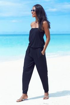 Ibiza Black Jumpsuit
