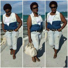 Jeans on jeans- Denim❤on Sassy Saturday