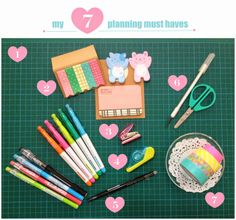 My Top 7 Planning Must Haves