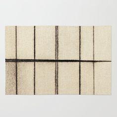 Toner Lines on Paper Rug