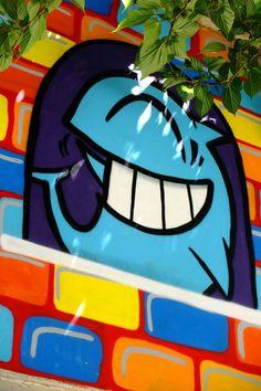 ღღ El pez - street art - Paris 20 - parc de belleville