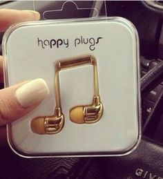 I want so bad!! They have different colors 2. Go on happyplugs.com to see them all. <3