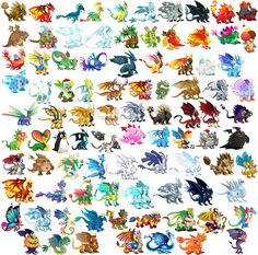 dragon city dragons | Full resolution  (2,324 × 2,298 pixels, file size: 5.04 MB, MIME ...