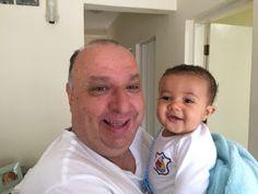 Diário do Felipinho: Amo meu vovô.