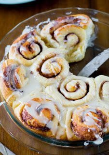 your recipes: easy homemade cinnamon rolls