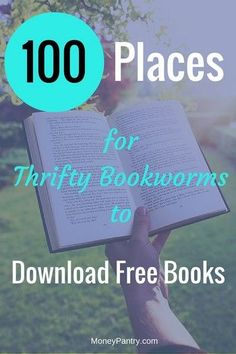 100 Websites where you can download and read free books/ebooks