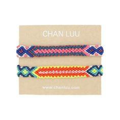 Flamingo Mix Friendship Bracelet Set - Chan Luu