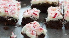 Spruce up your brownies with crushed peppermint pieces! Get the Peppermint Brownies recipe, here.