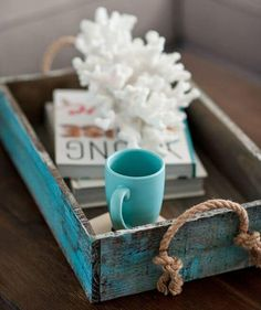 DIY Playbook's Home Tour from Gina Cristine Read more – www.stylemepretty… DIY Playbook's Home Tour from Gina Cristine Read more – www.stylemepretty… Pin: 736 x 1105 Coastal Style, Coastal Decor, Rustic Beach Decor, Coastal Living, Deco Pastel, Diy Playbook, House Of Turquoise, Turquoise Cottage, Turquoise Table