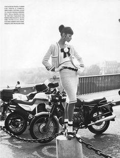 Christy Turlington by Steven Meisel | Vogue Italy 1992 February