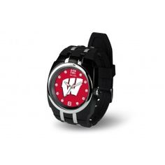 Wisconsin Badgers Crusher Sports Wrist Watch