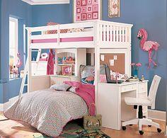 Below are the Kids Beds Loft Bunk Bed Furniture Ideas. This post about Kids Beds Loft Bunk Bed Furniture Ideas … Girls Bunk Beds, Loft Bunk Beds, Kid Beds, Bedroom Sets, Girls Bedroom, Dream Bedroom, Loft Bed Plans, Bunk Bed Designs, Shared Bedrooms