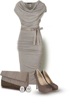 I love this...but NO platform heels. Same shoes minus platform. Beautiful taupe colors.