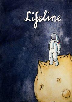 Lifeline (@lifelinegame) | Twitter Fan Art via @scrambledStill