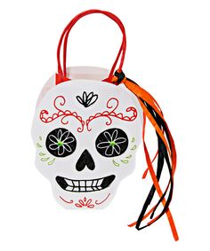 Look at this Sugar Skull Party Bag - Set of Eight on #zulily today!