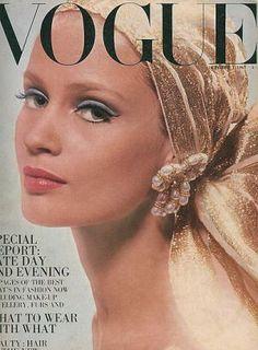 Vintage Vogue magazine covers - mylusciouslife.com - Vintage Vogue UK October 1967 - Celia Hammond.jpg