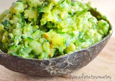 Pon a Dieta tus Recetas: Guacamole ligero